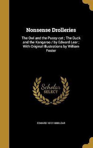 Bog, hardback Nonsense Drolleries af Edward 1812-1888 Lear