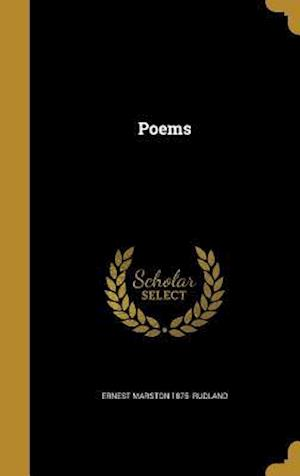 Bog, hardback Poems af Ernest Marston 1875- Rudland