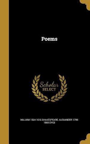 Bog, hardback Poems af William 1564-1616 Shakespeare, Alexander 1798-1869 Dyce
