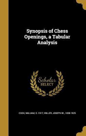 Bog, hardback Synopsis of Chess Openings, a Tabular Analysis