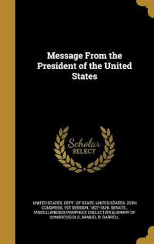 Bog, hardback Message from the President of the United States