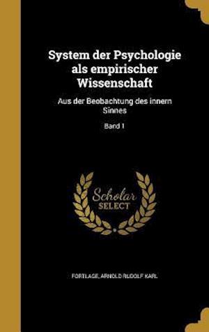 Bog, hardback System Der Psychologie ALS Empirischer Wissenschaft