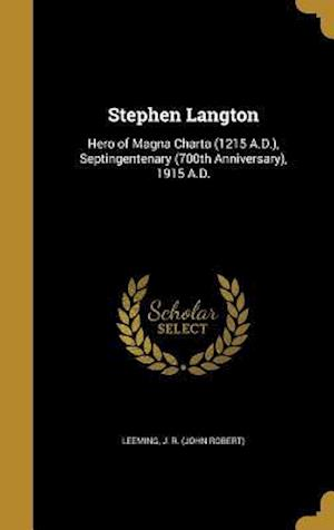 Bog, hardback Stephen Langton