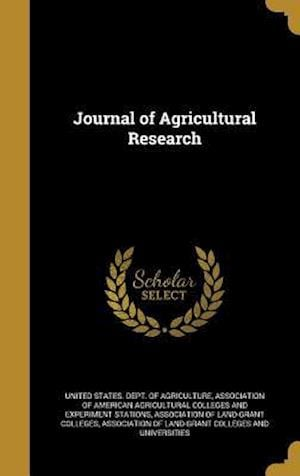 Bog, hardback Journal of Agricultural Research