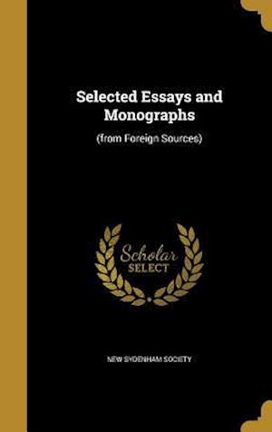 Bog, hardback Selected Essays and Monographs