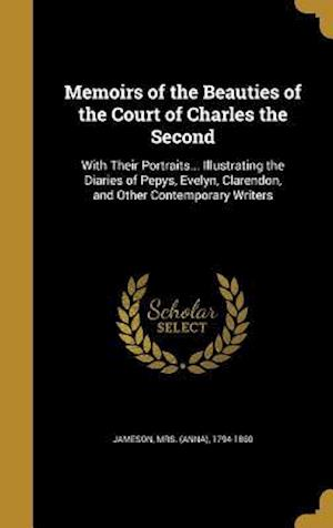 Bog, hardback Memoirs of the Beauties of the Court of Charles the Second