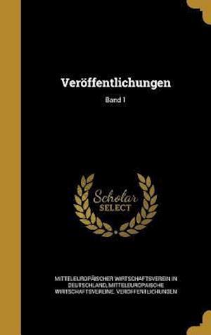 Bog, hardback Veroffentlichungen; Band 1