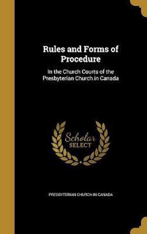 Bog, hardback Rules and Forms of Procedure