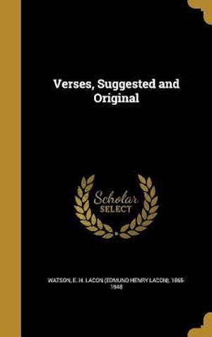 Bog, hardback Verses, Suggested and Original