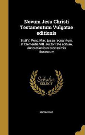 Bog, hardback Novum Jesu Christi Testamentum Vulgatae Editionis