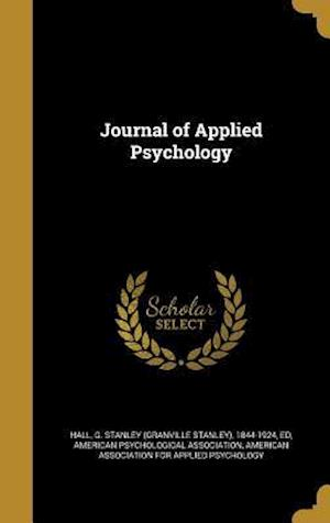 Bog, hardback Journal of Applied Psychology