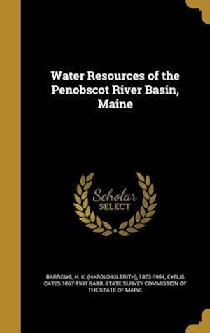Bog, hardback Water Resources of the Penobscot River Basin, Maine af Cyrus Cates 1867-1937 Babb
