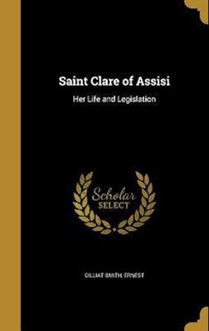 Bog, hardback Saint Clare of Assisi