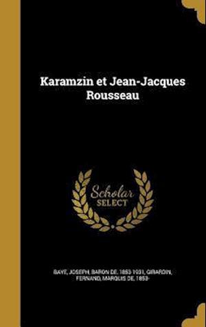 Bog, hardback Karamzin Et Jean-Jacques Rousseau