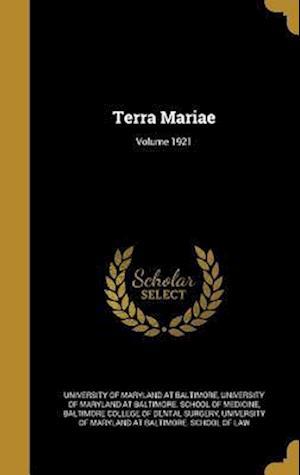 Bog, hardback Terra Mariae; Volume 1921