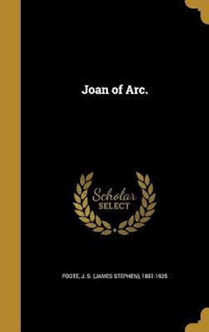 Bog, hardback Joan of Arc.