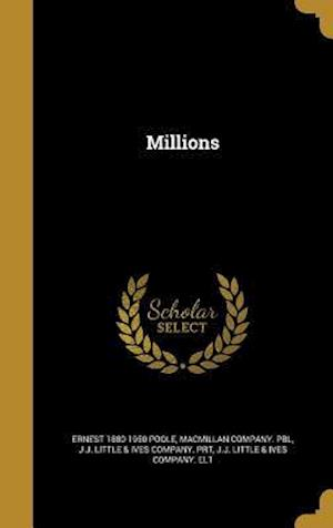 Bog, hardback Millions af Ernest 1880-1950 Poole