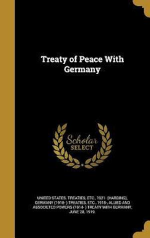 Bog, hardback Treaty of Peace with Germany