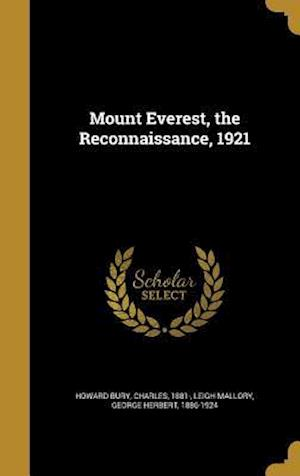 Bog, hardback Mount Everest, the Reconnaissance, 1921