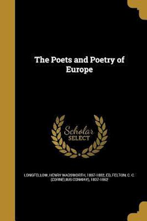 Bog, paperback The Poets and Poetry of Europe