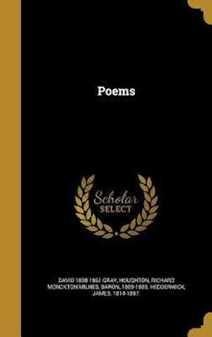 Bog, hardback Poems af David 1838-1861 Gray