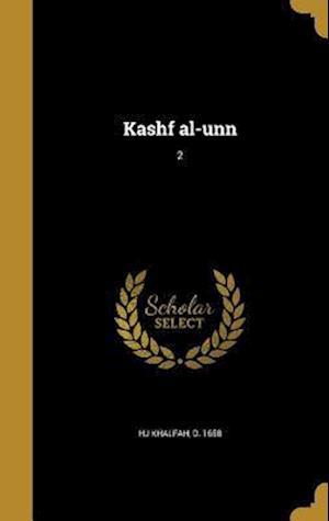 Bog, hardback Kashf Al-Unn; 2