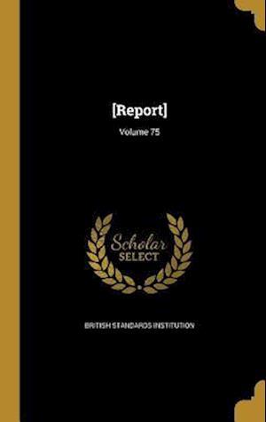 Bog, hardback [Report]; Volume 75