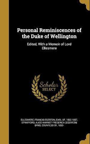 Bog, hardback Personal Reminiscences of the Duke of Wellington