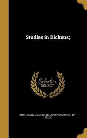 Bog, hardback Studies in Dickens;
