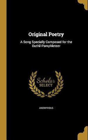 Bog, hardback Original Poetry