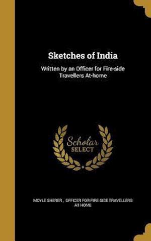 Bog, hardback Sketches of India