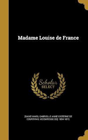 Bog, hardback Madame Louise de France