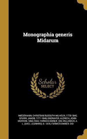 Bog, hardback Monographia Generis Midarum