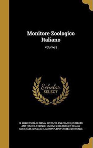 Bog, hardback Monitore Zoologico Italiano; Volume 5