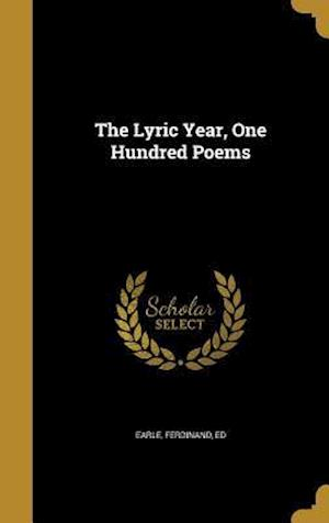 Bog, hardback The Lyric Year, One Hundred Poems