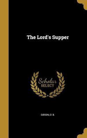 Bog, hardback The Lord's Supper
