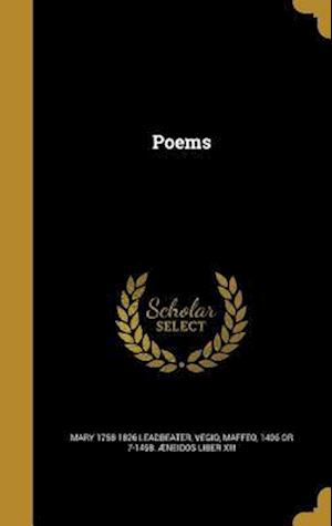 Bog, hardback Poems af Mary 1758-1826 Leadbeater