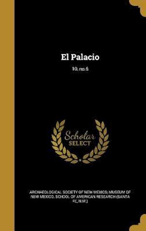 Bog, hardback El Palacio; 10, No.6