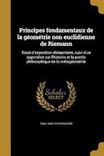 Principes Fondamentaux de La Geometrie Non Euclidienne de Riemann af Paul 1844-1919 Mansion