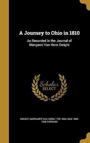 Bog, hardback A Journey to Ohio in 1810 af Max 1869-1945 Farrand