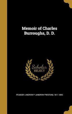 Bog, hardback Memoir of Charles Burroughs, D. D.