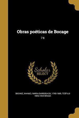 Bog, paperback Obras Poeticas de Bocage; 7-8 af Teofilo 1843-1924 Braga