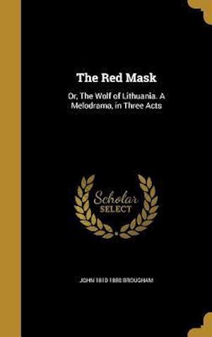 Bog, hardback The Red Mask af John 1810-1880 Brougham