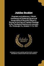 Jubilee Booklet af Edward Sheppard 1869- Bromer