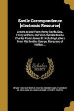Savile Correspondence [Electronic Resource] af William Durrant 1812-1875 Cooper, Henry 1642-1687 Savile