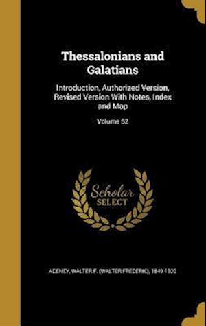 Bog, hardback Thessalonians and Galatians
