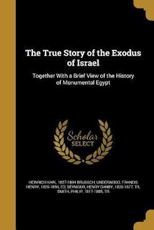 Bog, paperback The True Story of the Exodus of Israel af Heinrich Karl 1827-1894 Brugsch
