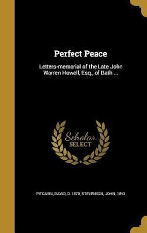 Bog, hardback Perfect Peace