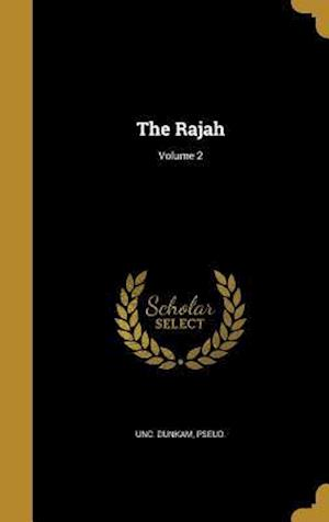Bog, hardback The Rajah; Volume 2