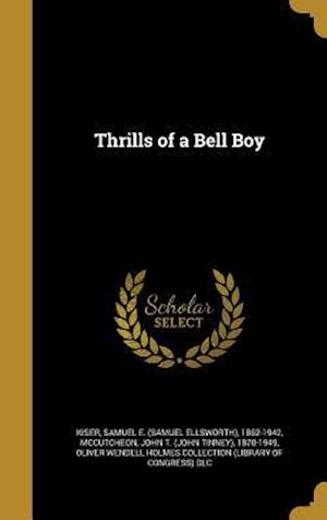 Bog, hardback Thrills of a Bell Boy
